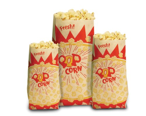 Paragon - Manufactured Fun 1030 Medium Paper Popcorn Bags
