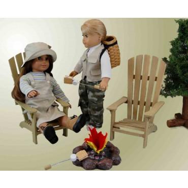 The Queens Treasures AGWA-C Great Outdoors Wilderness Adventure Set for 18 in. Dolls