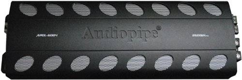 Audiopipe 4CH 2500W Max Amplifier