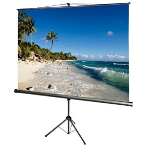 AccuScreens 800070 TRIPOD SCREEN WITH KEYSTONE