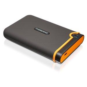 Transcend TS500GSJ25M2 Transcend StoreJet 25M2 500 GB External Hard Drive - USB 2.0 - SATA - 5400 rpm - 8 MB Buffer - 2.5 in.