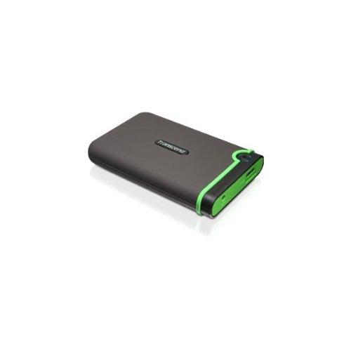 Transcend TS500GSJ25M3 Transcend StoreJet M3 TS500GSJ25M3 500 GB External Hard Drive - USB 3.0 - SATA - 5400 rpm - 8 MB Buffer - 2.5 in.