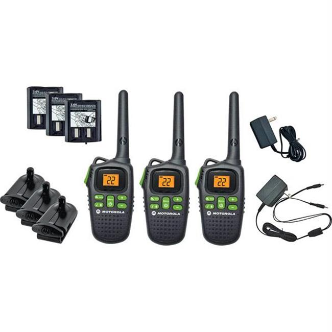 Motorola Talkabout 2-Way Radios with 20-Mile Range and Big Buttons - MD200TPR