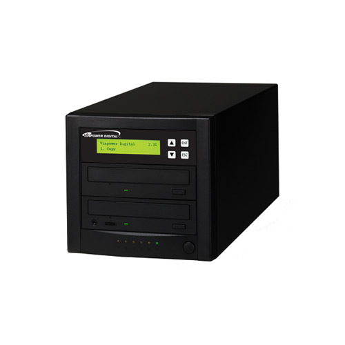 Vinpower Digital Econ-S1T-DVD-BK Econ Series 1 to 1 Target DVD CD Disc Duplicator Tower