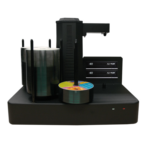Vinpower Digital CRONUS220-BD-S2T-NP-BK Cronus 2 Target Robotic Automatic Blu-ray DVD CD Disc Ripping Station Duplicator 220 Disc Capacity - No Printer VNPWR299