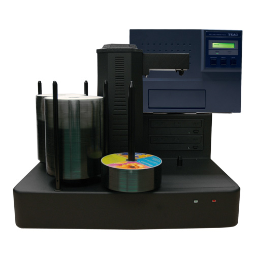Vinpower Digital CRONUS220-S2T-P55-BK Cronus 2 Target Robotic Automatic DVD CD Disc TEAC P55 Thermal Printer Publishing System 220 Disc Capacity VNPWR320