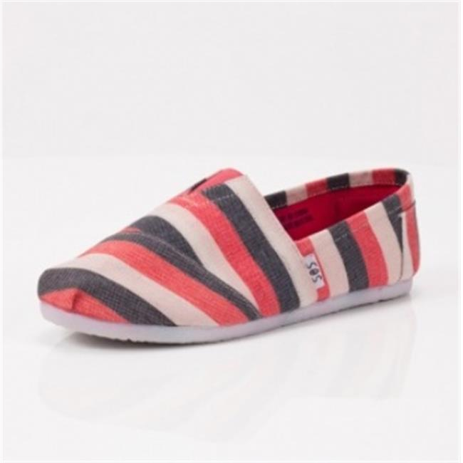 DDI-1215644-Coral-zebra-A-Slip-on-Case-Of-12