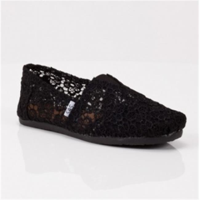 DDI-1215656-Black-Crochet-CSlip-on-Case-Of-12
