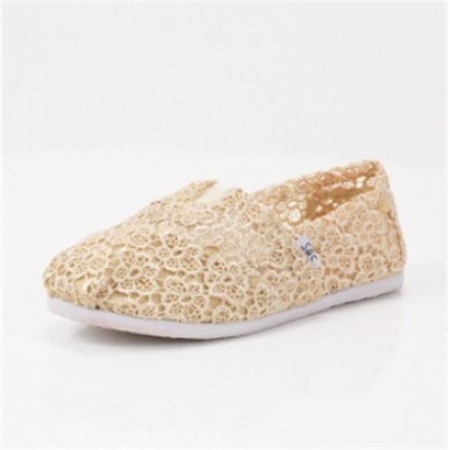 DDI-1215631-Cream-Crochet-A-Slip-on-Case-Of-12