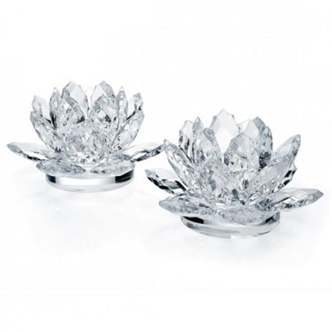 DDI-1081992-Crystal-Lotus-Console-Candle-Sticks-Case-Of-6
