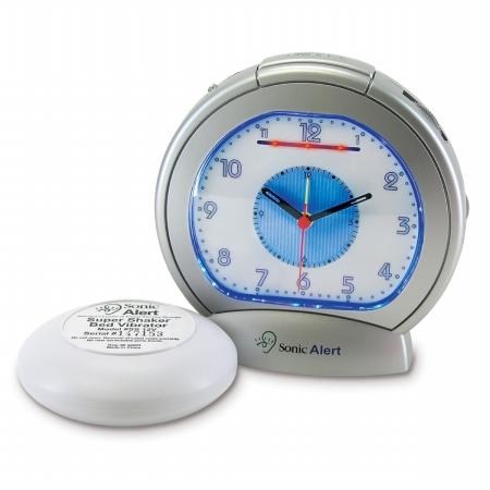 Sonic Alert SBA475SS Analog Alarm Clock HSTZ6936