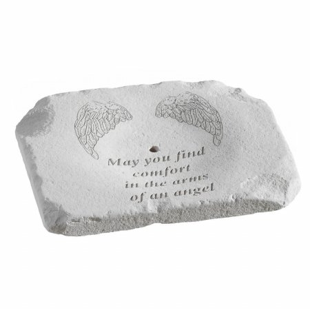 Kay Berry 96075 May You Find Comfort - Stone Memorial Garden Ground-Level Fountain at Sears.com