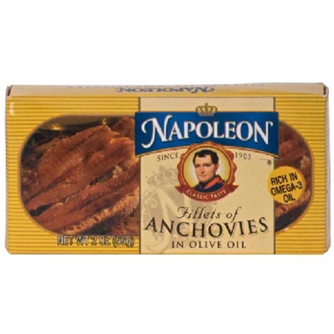 Napoleon Co. BG16123 Napoleon Co. Anchovies Flat - 1x2OZ
