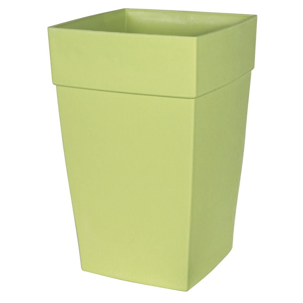 DCN Plastics DCN351634 DCN 16 in. x 24 in. Tall Planter Bamboo Green BFG2030