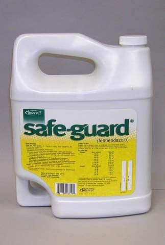Durvet Intervet Safeguard Wormer Suspension White Gallon - 001-809793