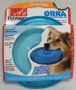 Petstages 066456 Orka Flyer Chew Dog Toy - Blue