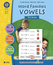 Classroom Complete Press CC1112 Word Families Big Book