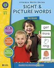 Classroom Complete Press CC1115 Sight & Picture Words Big Book