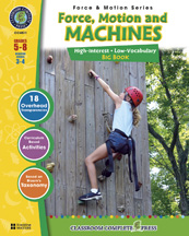 Classroom Complete Press CC4511 Force- Motion & Machines Big Book