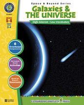 Classroom Complete Press CC4513 Space - Galaxies & The Universe