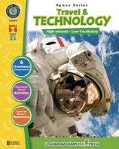 Classroom Complete Press CC4514 Space 3 - Travel & Technology