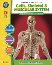 Classroom Complete Press CC4516 Human Body  - Cells- Skeletal- Muscular
