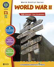 Classroom Complete Press CC5502 World War II