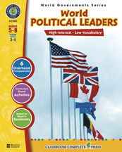 Classroom Complete Press CC5761 World Political Leaders