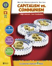 Classroom Complete Press CC5763 Capitalism versus Communism
