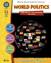Classroom Complete Press CC5777 World Politics -  Big Book