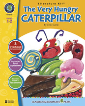 Classroom Complete Press CC2103 The Very Hungry Caterpillar - Literature Kit CCP076