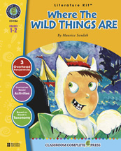 Classroom Complete Press CC2104 Where the Wild Things Are - Literature Kit
