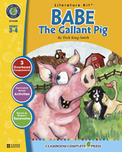 Classroom Complete Press CC2300 Babe: The Gallant Pig - Literature Kit