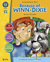 Classroom Complete Press CC2301 Because of Winn-Dixie - Literature Kit