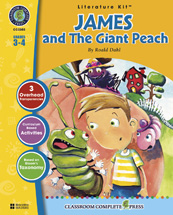 Classroom Complete Press CC2303 James and the Giant Peach - Literature Kit