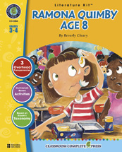 Classroom Complete Press CC2304 Ramona Quimby- Age 8 - Literature Kit
