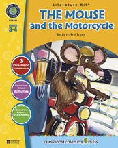 Classroom Complete Press CC2305 The Mouse and the Motorcycle - Literature Kit