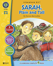 Classroom Complete Press CC2308 Sarah- Plain and Tall - Literature Kit