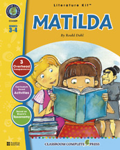 Classroom Complete Press CC2309 Matilda - Literature Kit