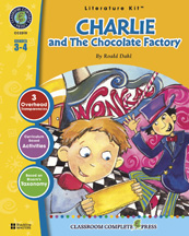 Classroom Complete Press CC2310 Charlie and the Chocolate Factory - Literature Kit