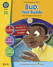 Classroom Complete Press CC2502 Bud- Not Buddy - Literature Kit