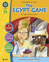 Classroom Complete Press CC2503 The Egypt Game - Literature Kit