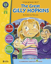 Classroom Complete Press CC2504 The Great Gilly Hopkins - Literature Kit