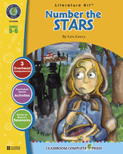 Classroom Complete Press CC2506 Number the Stars- Literature Kit