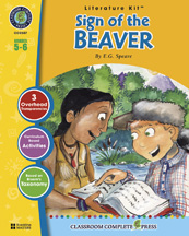 Classroom Complete Press CC2507 The Sign of the Beaver - Literature Kit