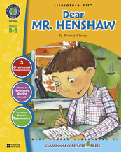 Classroom Complete Press CC2514 Dear Mr. Henshaw - Literature Kit