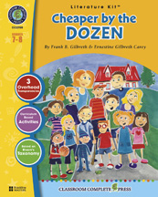 Classroom Complete Press CC2700 Cheaper by the Dozen - Literature Kit