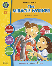 Classroom Complete Press CC2701 The Miracle Worker - Literature Kit