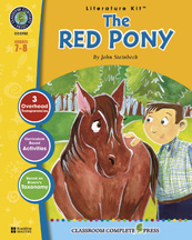 Classroom Complete Press CC2702 The Red Pony - Literature Kit