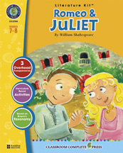 Classroom Complete Press CC2704 Romeo and Juliet - Literature Kit
